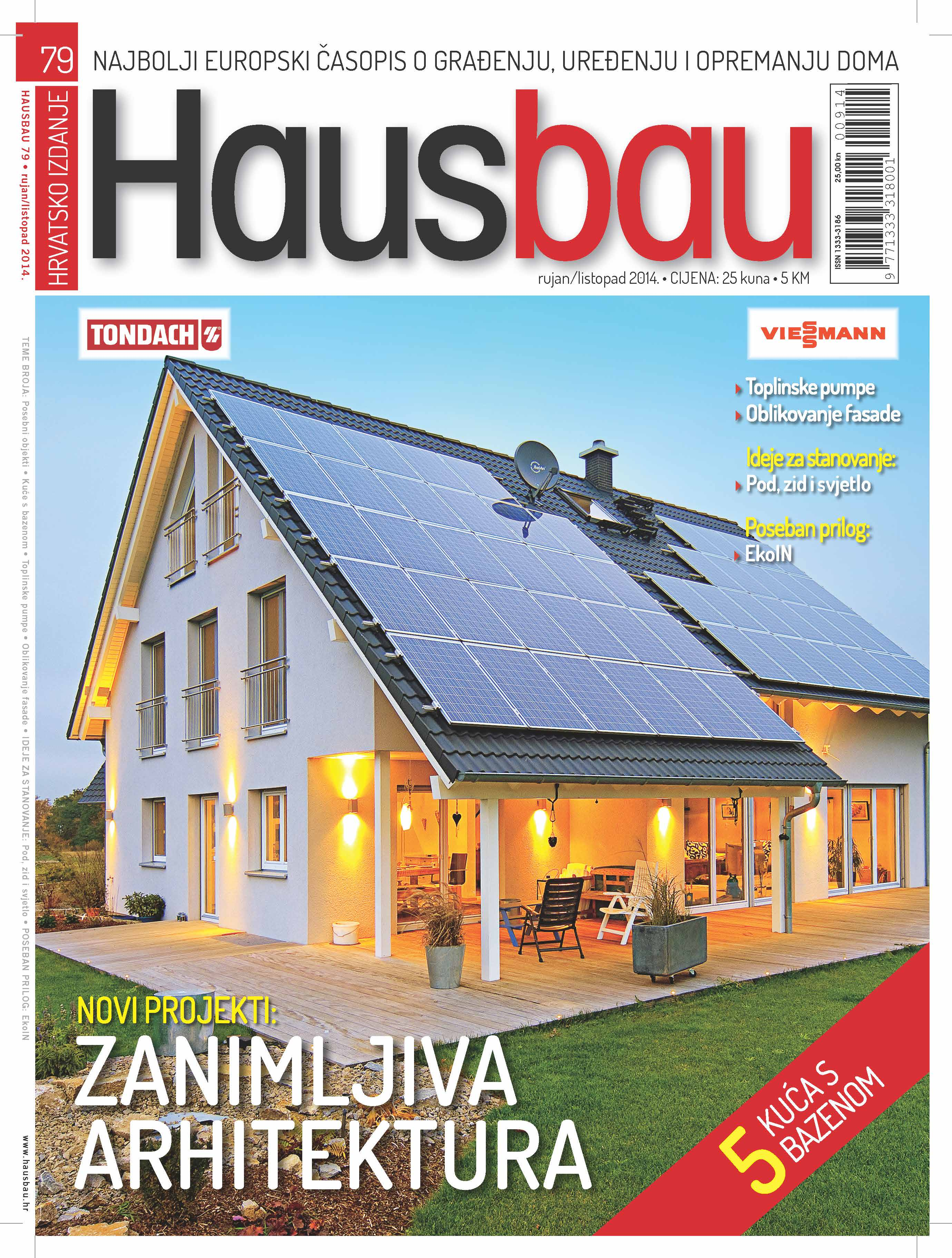 hausbau br 79 rujan listopad 2014 na svim kioscima hausbau. Black Bedroom Furniture Sets. Home Design Ideas