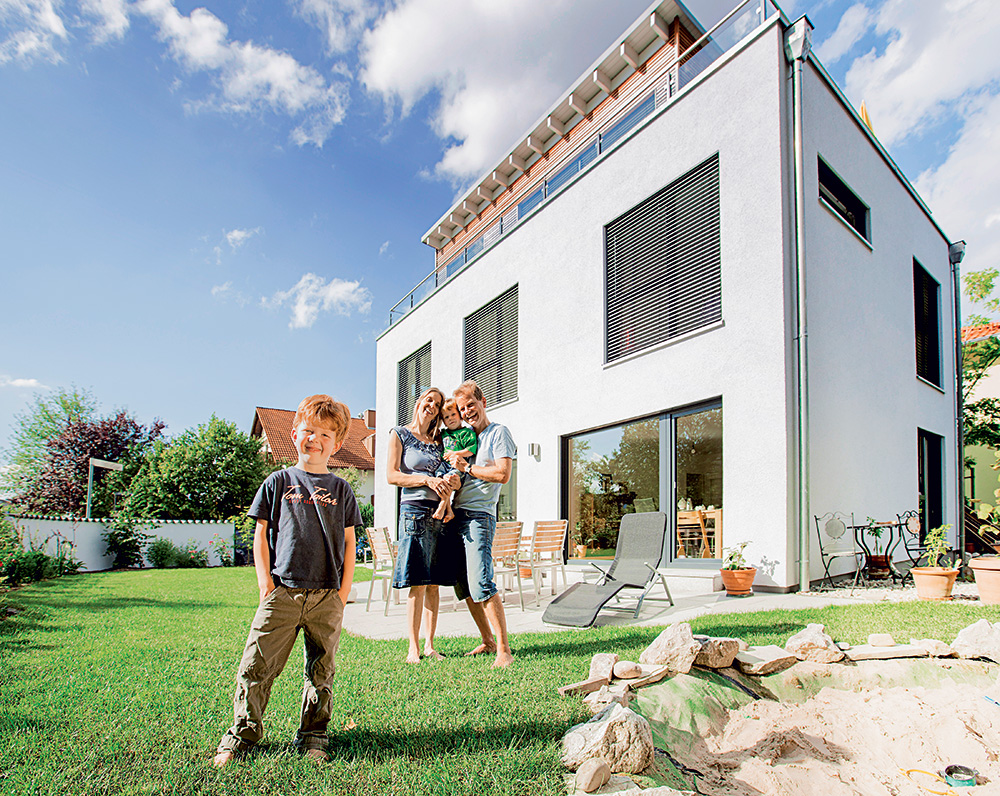Vrt i terasa - Hausbau br.78