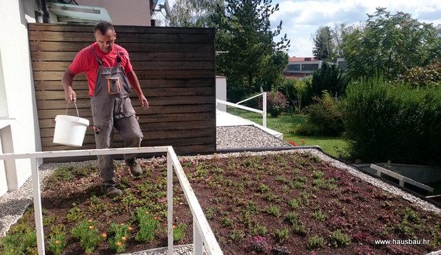 Fibran, sanacija i ozelenjavanje hrovne terase (Hausbau br.93)
