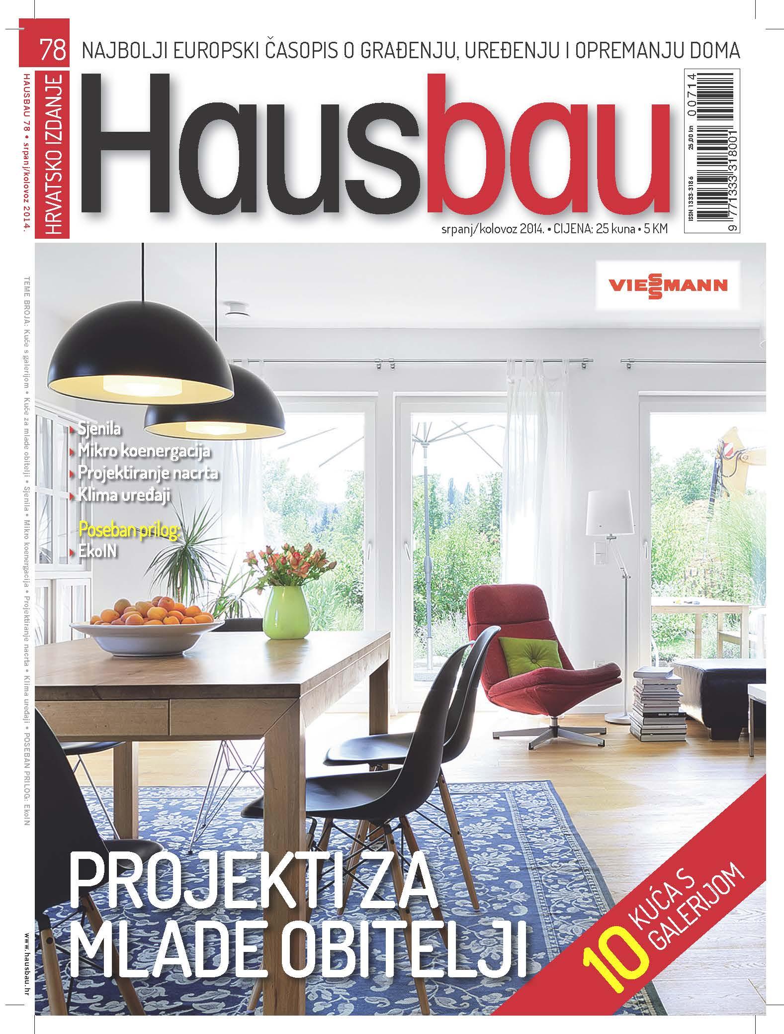 Hausbau br.78 (srpanj/kolovoz 2014) – na svim kioscoma