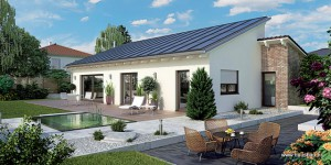Plus energetski bungalov – Hausbau br.82
