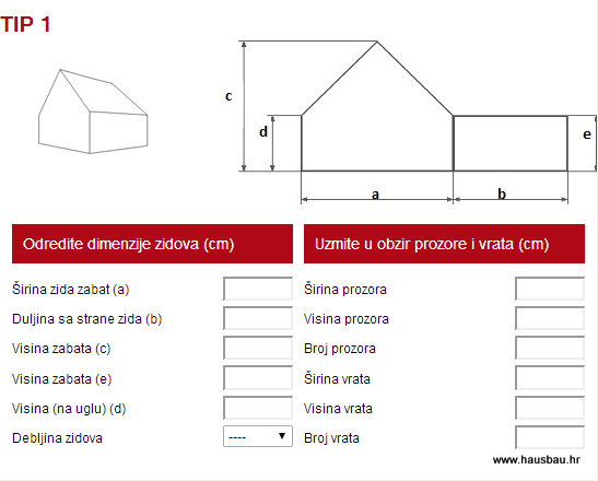 Wienerberger online kalkulatori – Hausbau br.82