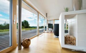 Drveni i alu/drveni prozori – Polocommerce – Hausbau br.88 (ožujak/travanj 2016)