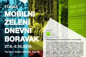 """TURAS- MOBILNI ZELENI DNEVNI BORAVAK"""" u Zagrebu"""
