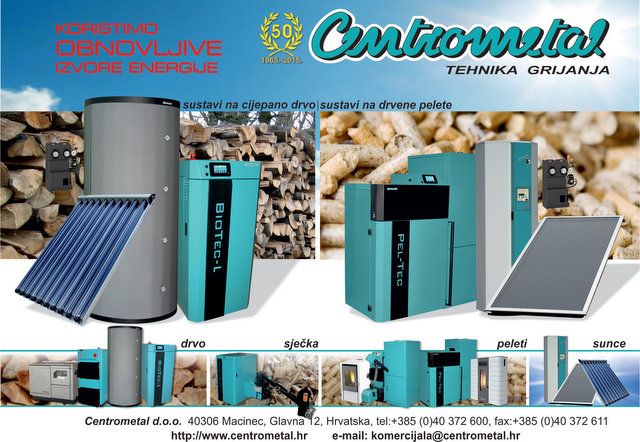 Centrometal – Grijanje NA OBNOVLJIVE IZVORE ENERGIJE – Hausbau br.94
