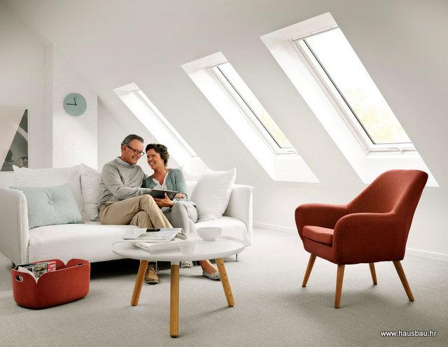 VELUX Moderno je bijelo – Hausbau br.94