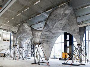 Betonski krov s ugrađenim fotonaponskim ćelijama