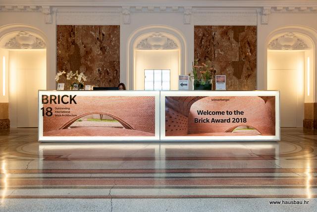 Wienerberger Brick Award 2018: priznanje visokokvalitetnoj arhitekturi opeke