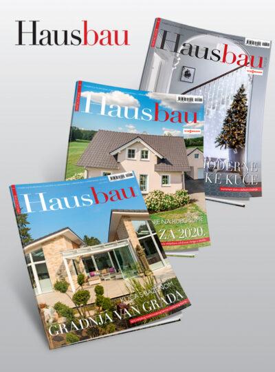 Hausbau godišnja pretplata tiskana izdanja T