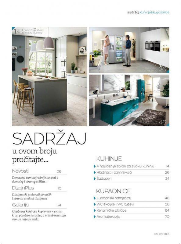 Kuhinje i kupaonice br.45 D