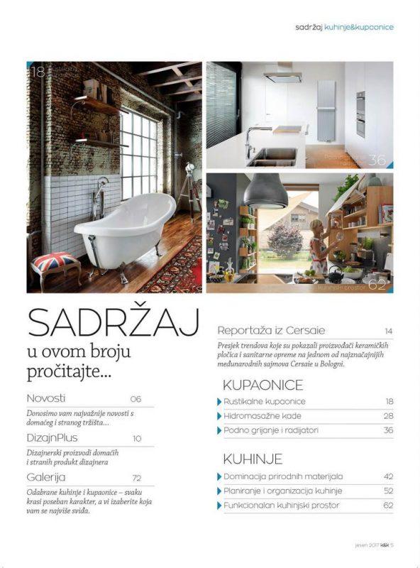 Kuhinje i kupaonice br.46 D