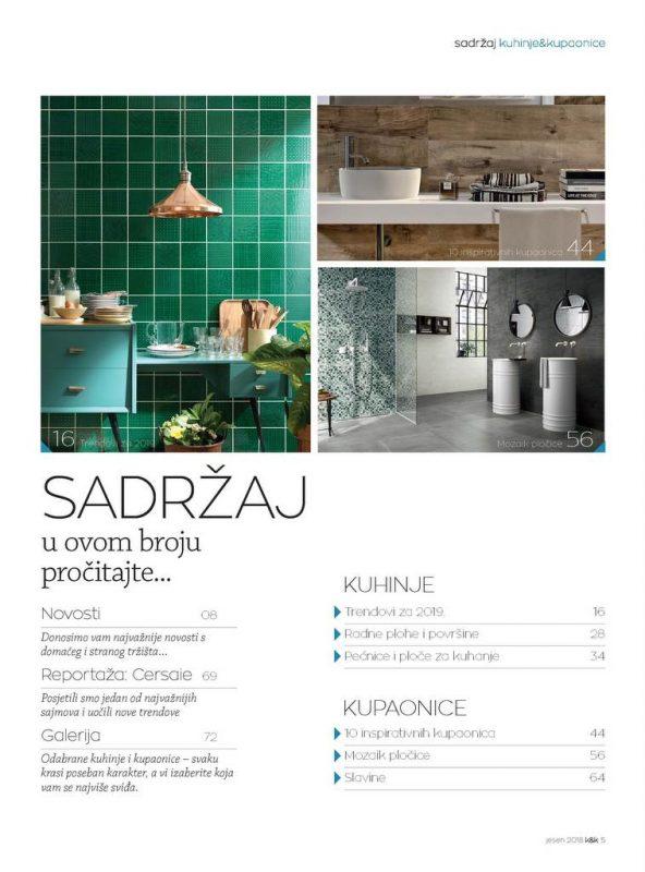Kuhinje i kupaonice br.49 D