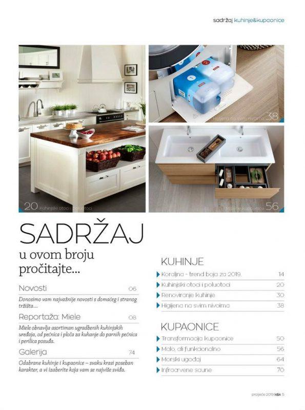 Kuhinje i kupaonice br.50 D