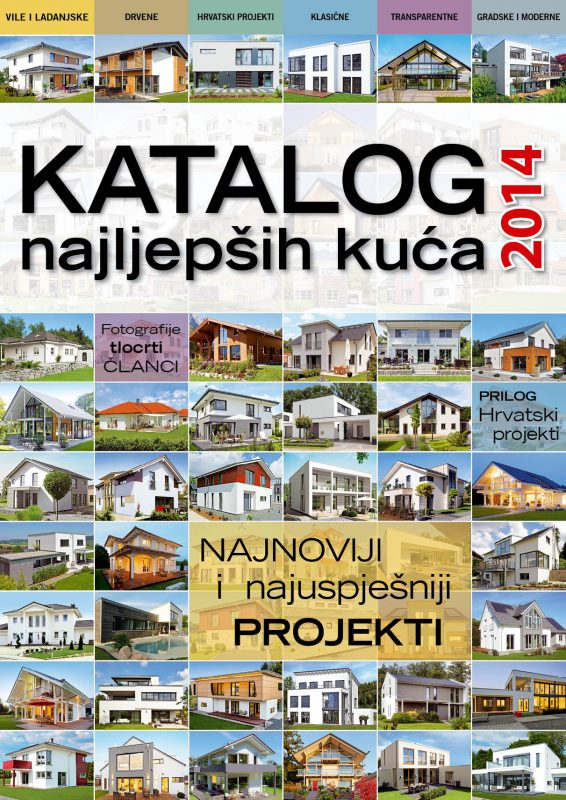 Katalog najljepših kuća 2014 T
