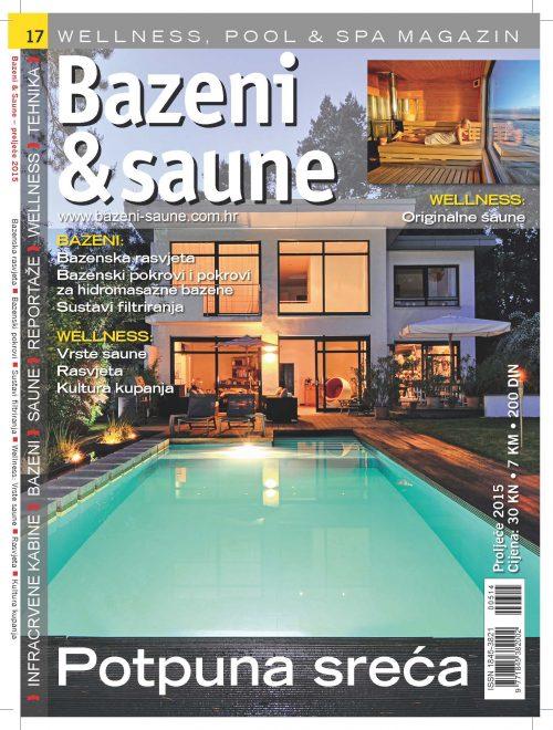 Bazeni i saune br.17 (2015) D