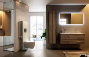 Fluidmaster za kupaonicu bez prepreka